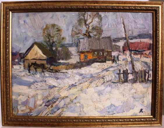 "Kochev A. A. ""Winter day"", 1971 - photo 1"