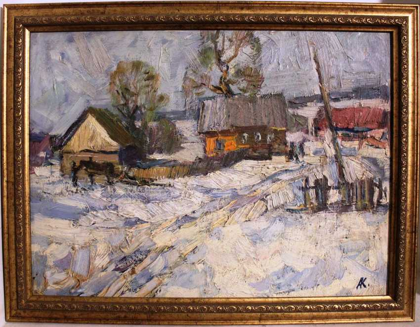 "Kochev A. A. ""Winter day"", 1971 - photo 1"