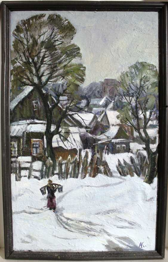 "Kochev A. A. ""In the old Zaslavl"", 1972 - photo 1"