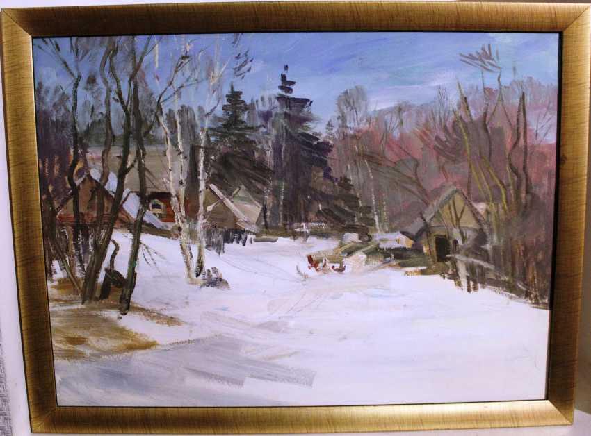 "Uswak V. S. ""Morning at the cottage"" - photo 1"