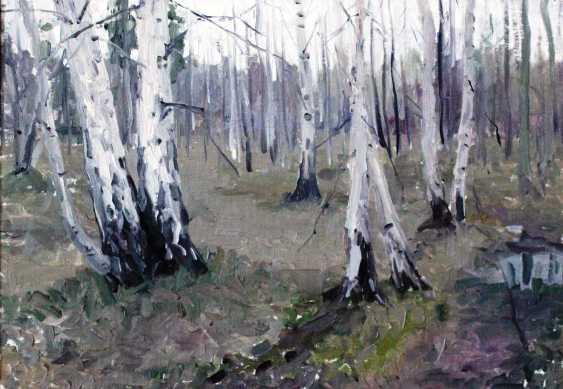 """Azgur (Gorelova) G. G. """"White birches"""". - photo 1"""