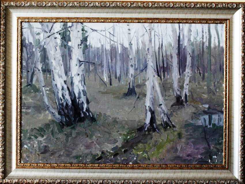 """Azgur (Gorelova) G. G. """"White birches"""". - photo 2"""
