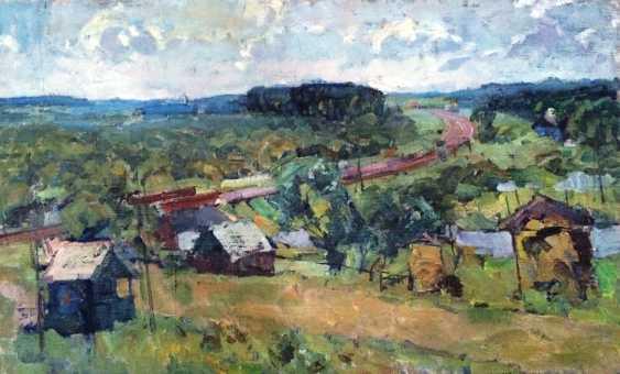 "Maslenykov P. V. ""cottage settlement"", 1977 - photo 1"