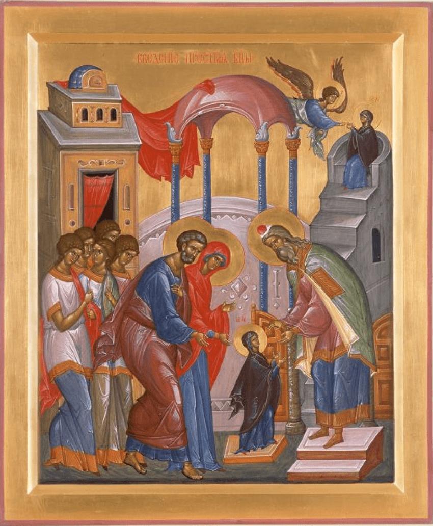 Introduction in Temple Presvjatoj of the virgin - photo 1