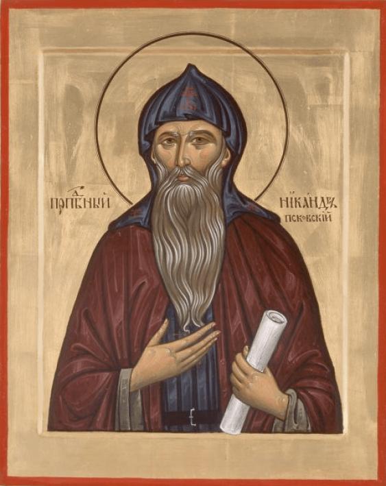SV. PRP. Nikandr Of Pskov - photo 1