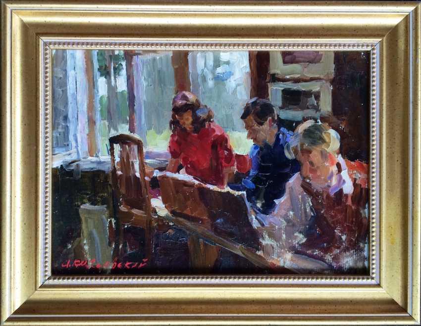 """Kozlovskiy A. S. """"In the Studio"""" 1954 - photo 1"""