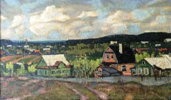 """Dudarenko A. L. - """"vacation village"""", XX century. - photo 1"""