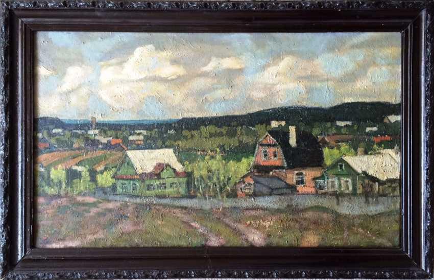 """Dudarenko A. L. - """"vacation village"""", XX century. - photo 2"""