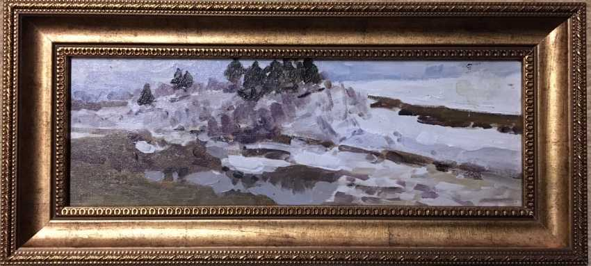 Azgur (Gorelova).G. Painting, 1946. - photo 1