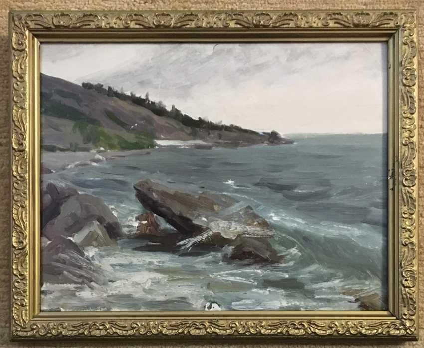 Azgur (Gorelova).G. Painting, 1950. - photo 1