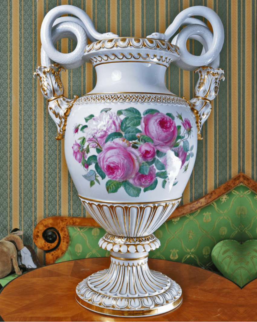 Meissen, Germany, 1910 - e gg, porcelain, double-sided painting - photo 2