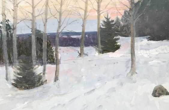 "Azgur (Gorelova) G. G. Etude ""Winter"", 1949 - photo 2"