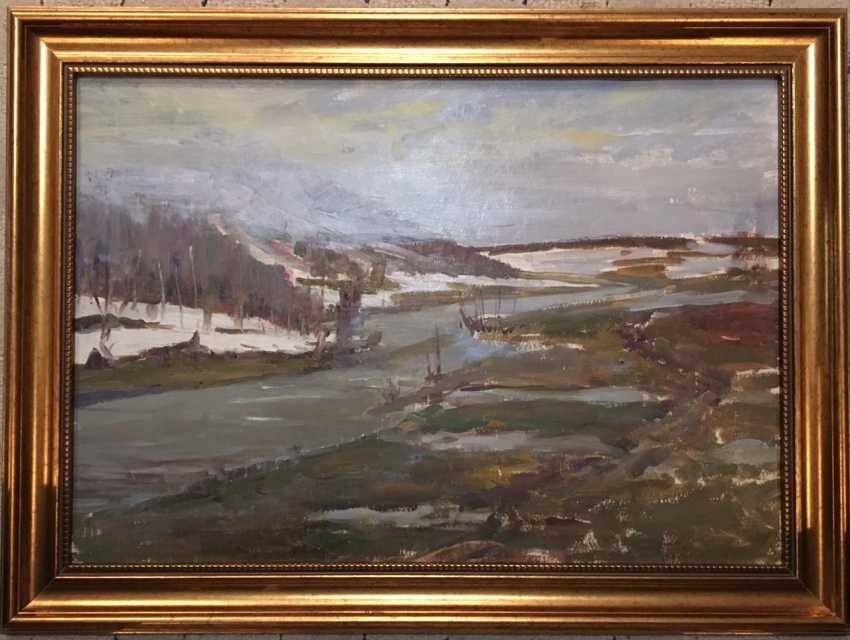 Azgur (Gorelova).G. Painting, 1953. - photo 1