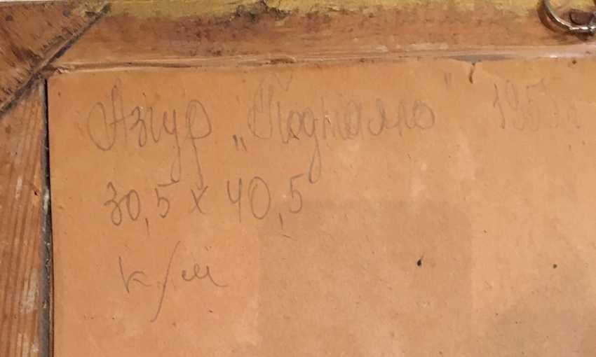 """Azgur (Gorelova).G. - """"Melted"""", 1955. - photo 2"""