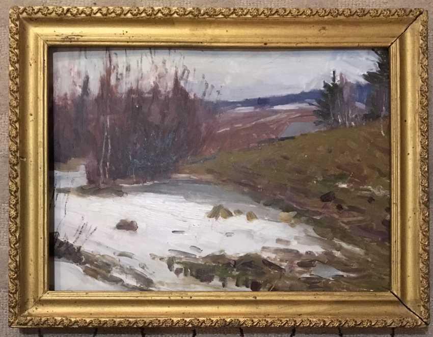"""Azgur (Gorelova).G. - """"Melted"""", 1955. - photo 1"""