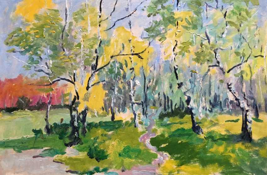 """Maslenykov P. V. - """"Spring"""", XX century. - photo 1"""