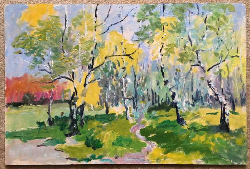 """Maslenykov P. V. - """"Spring"""", XX century. - photo 3"""