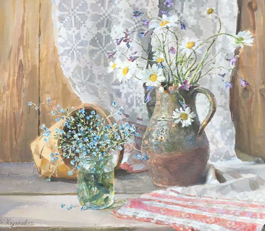 """Khodorovich and V. P. - """"still life with flowers"""", 2015 - photo 3"""