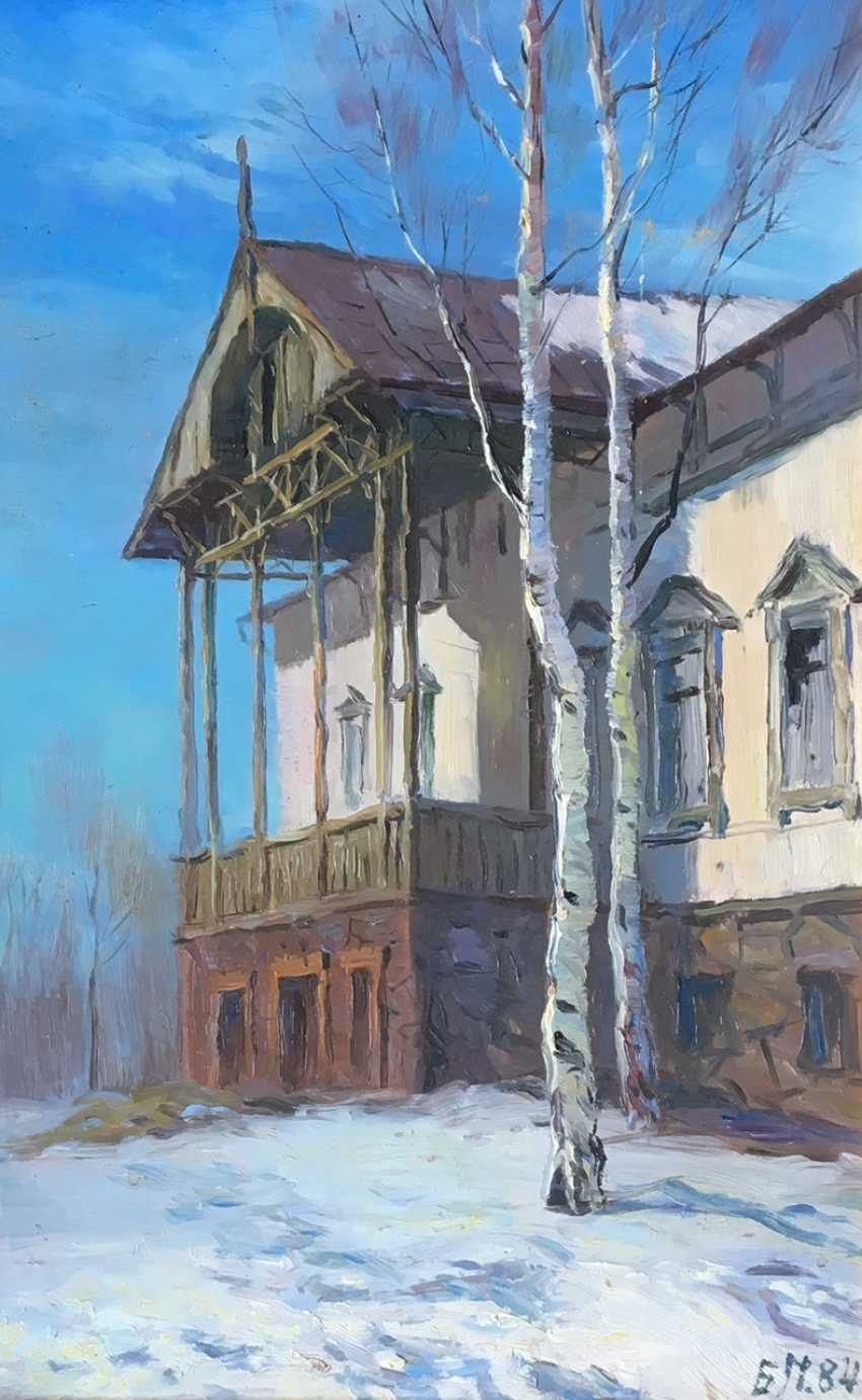 "Belyaev P. R. - ""Old house in Loshytsa"", 1984 - photo 2"