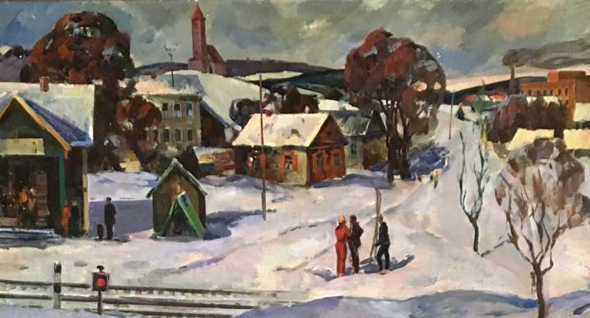 "Dovgyallo, O. M. - ""Zaslavl, winter"". - photo 2"