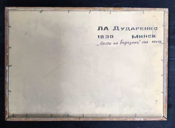 "Dudarenko L. A. - ""the Rafts on the Berezina"", 1968 - photo 2"