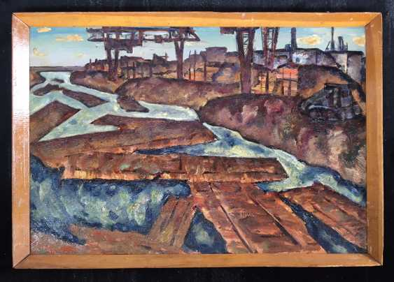 "Dudarenko L. A. - ""the Rafts on the Berezina"", 1968 - photo 1"