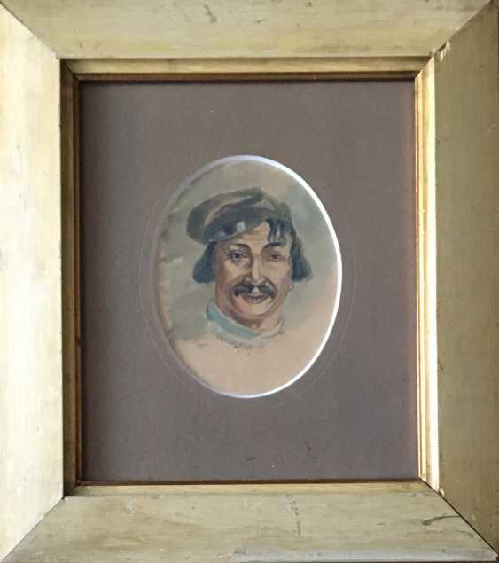 """Ivanov V. """"Porträt eines Mannes"""", 1908 - Foto 1"""