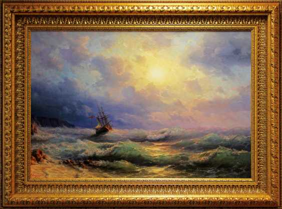 """""""On the sea""""/ """"Excitement at sea"""", - photo 1"""