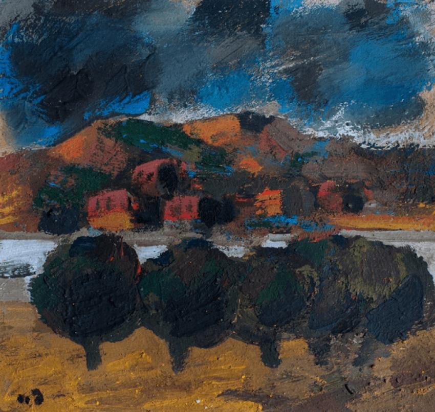 Landscape . Tengiz Mirzashvili - photo 1