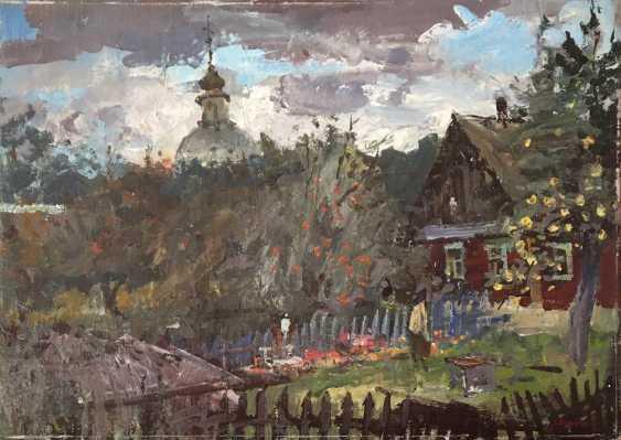 """Хмелевский В.В. """"Ветреный день"""", 1989 год - фото 1"""