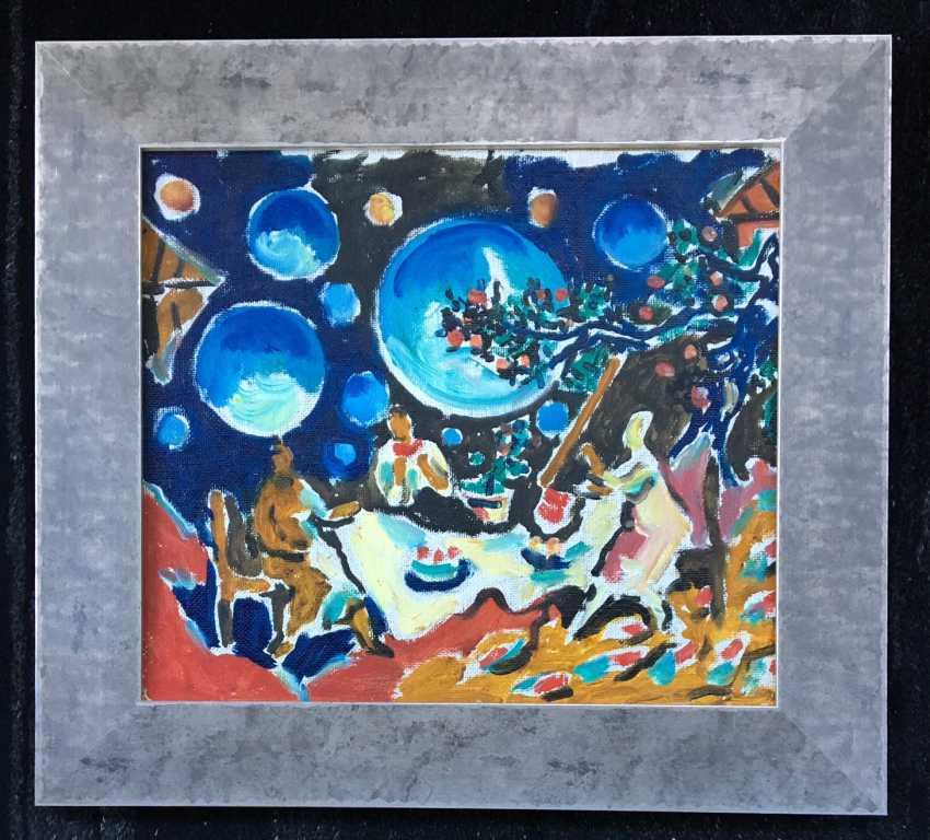 "Кищенко A. M. - ""Im Garten"", 1989 - Foto 1"