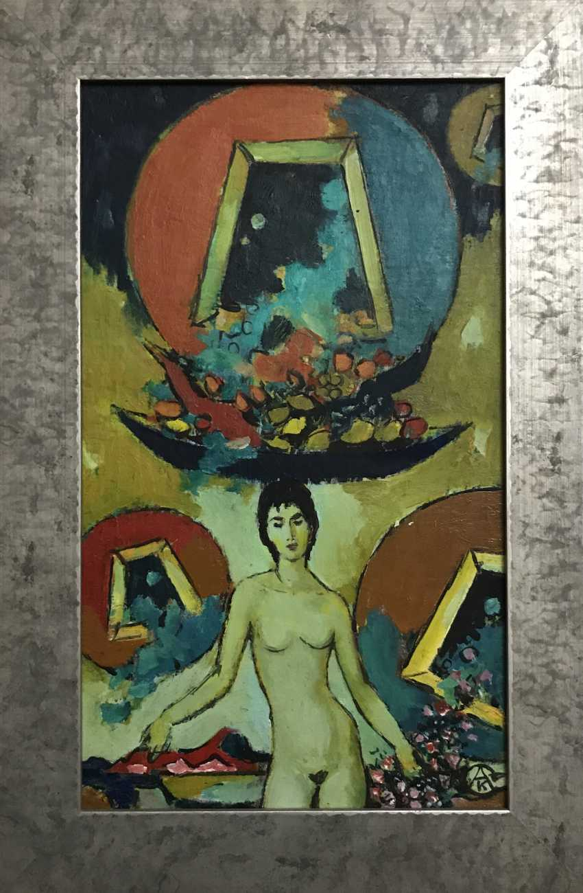 "Kishchenko, A. M. - ""Nude"", 1989 - photo 4"