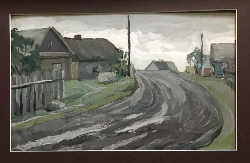 """Stasevich I. N. """"Belarusian village"""", XX century. - photo 2"""