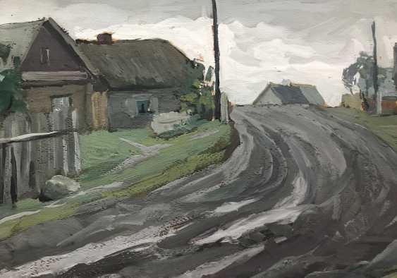 """Stasevich I. N. """"Belarusian village"""", XX century. - photo 4"""