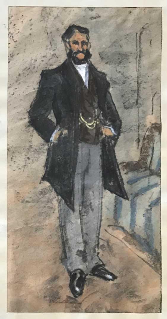 """Kubarev V. G. - """"the Gentleman"""", XXth century - photo 4"""