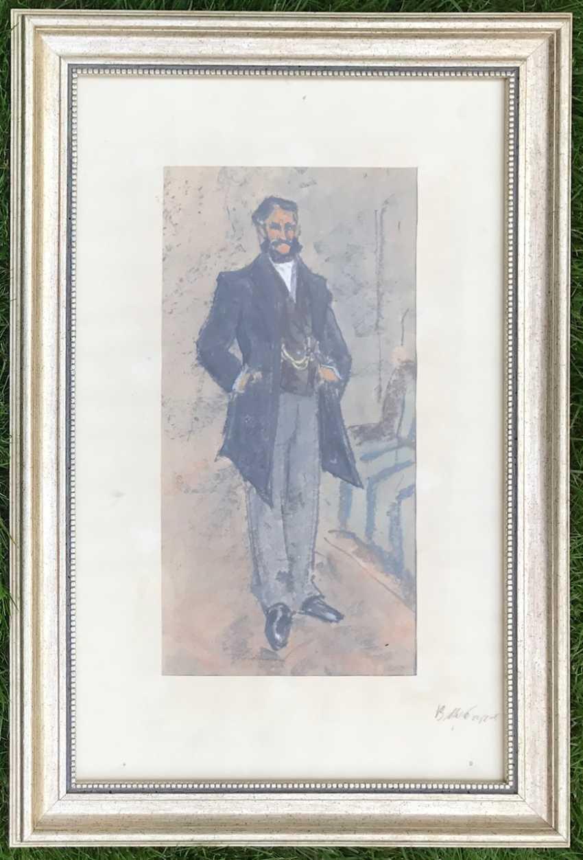 """Kubarev V. G. - """"the Gentleman"""", XXth century - photo 5"""