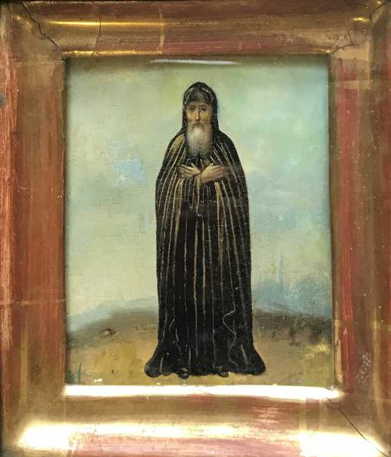 """St. Sergius Of Radonezh"". Russia, XIX century - photo 2"