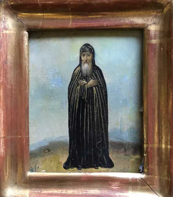 """St. Sergius Of Radonezh"". Russia, XIX century - photo 4"