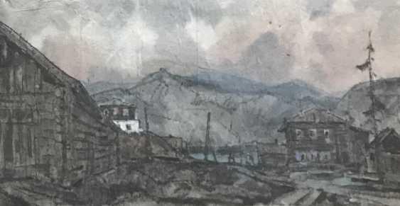 "Kubarev V. D. ""Siberian village"", 1964 - photo 2"