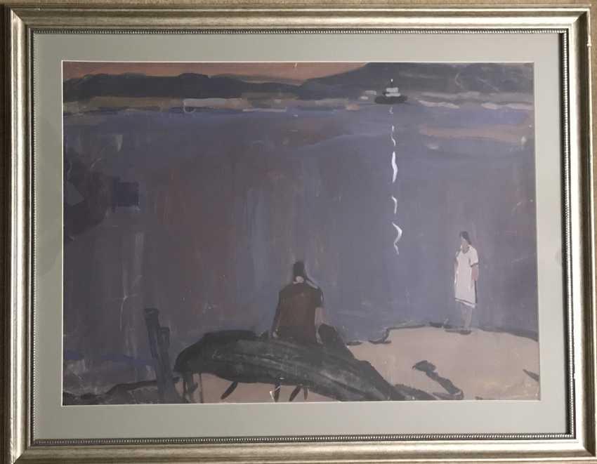"Kubarev V. G., ""Romantic"", XX century. - photo 1"