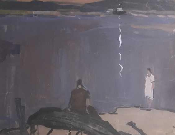 "Kubarev V. G., ""Romantic"", XX century. - photo 3"