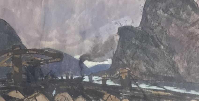 "Kubarev V. D. ""nitty-gritty"", 1965 - photo 4"