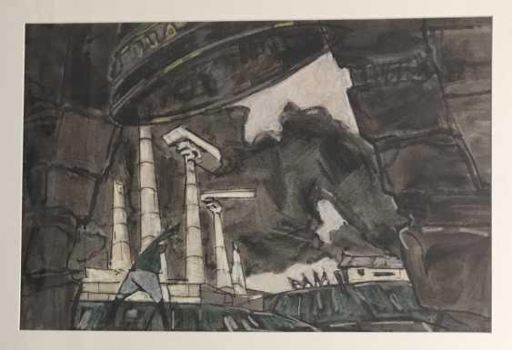 """Kubarev V. D.""""white Flight"""", 1963-1964. - photo 5"""