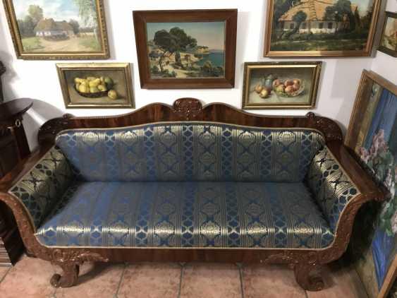 Sofa. Empire. Europe, XIX century. - photo 1