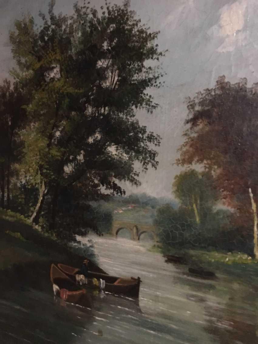 """Summer landscape"". Europe, XIX century - photo 6"