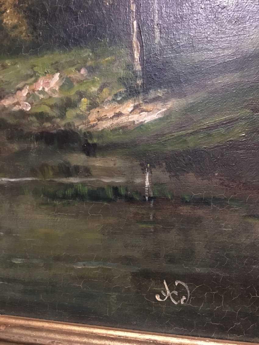 """Summer landscape"". Europe, XIX century - photo 7"