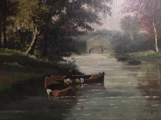 """Summer landscape"". Europe, XIX century - photo 8"