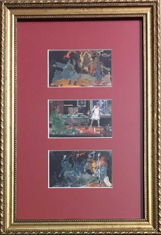 Rozhkov V. Z. Triptych, XX century. - photo 1