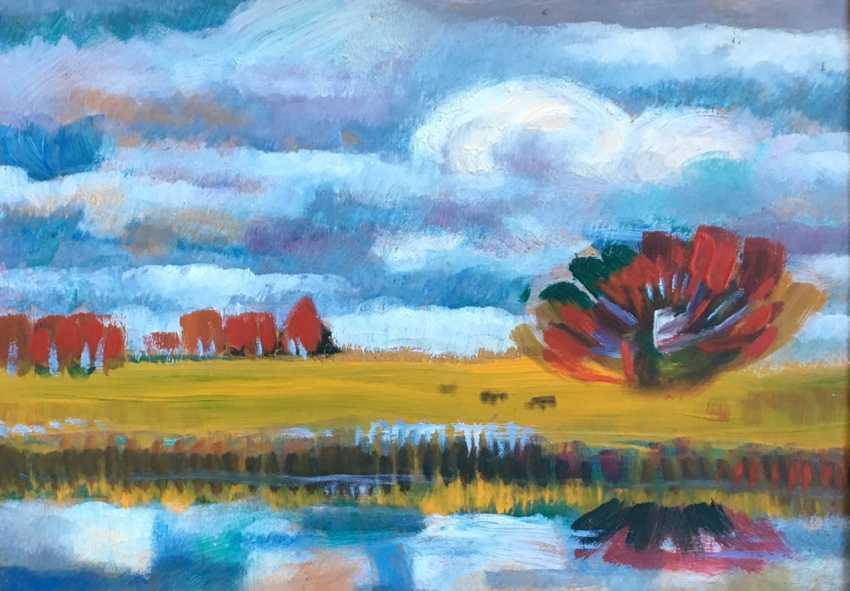 Chepik Painting M. F., 1995. - photo 2