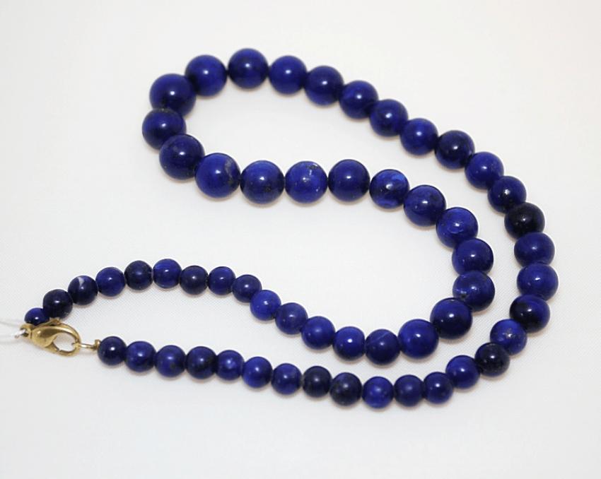 Les perles de lapis-lazuli - photo 1